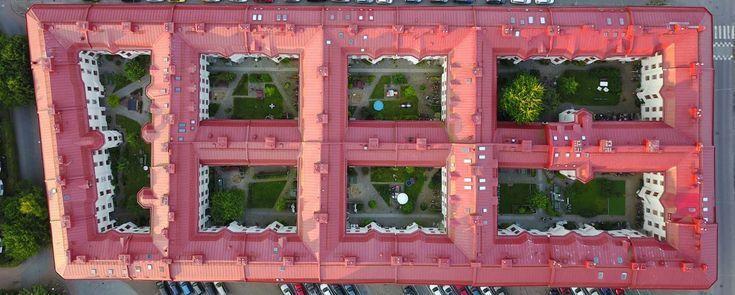Apartment buildings in Gothenburg Sweden [1634×656…