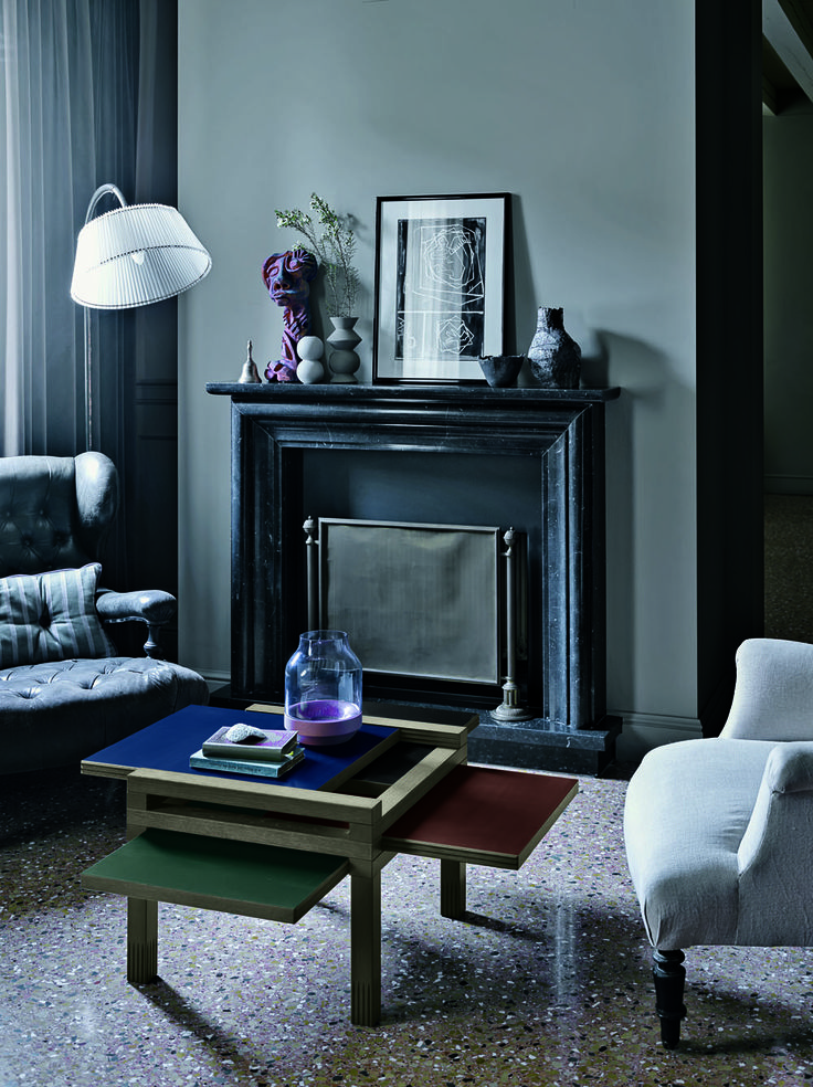 MiniPar4 in the #deco #palette. #MiniPar4 #table #smalltable #living #livingroom #grey #dark #wood #wonderful #design #furniture #lovefurniture #designlovers #2016Novelties #Novelties