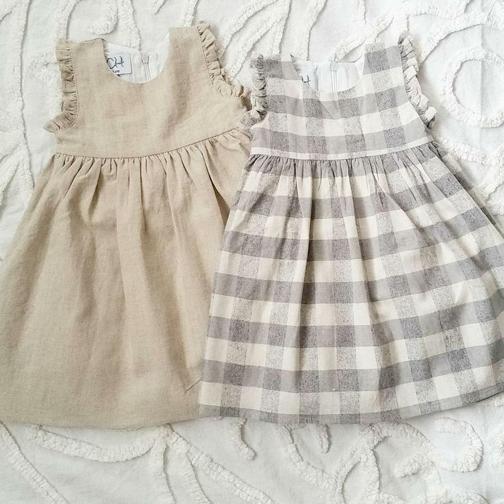Pretty Handmade Linen Dresses | CanvasHouseDesigns on Etsy