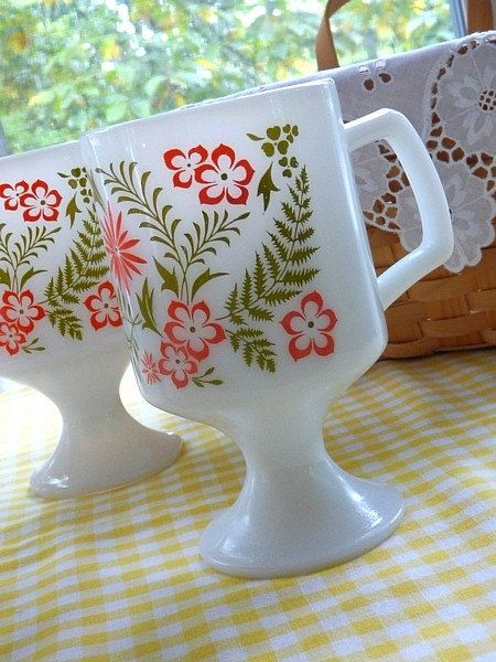 Corelle Pyrex Style Milk Glass by RetroRevival