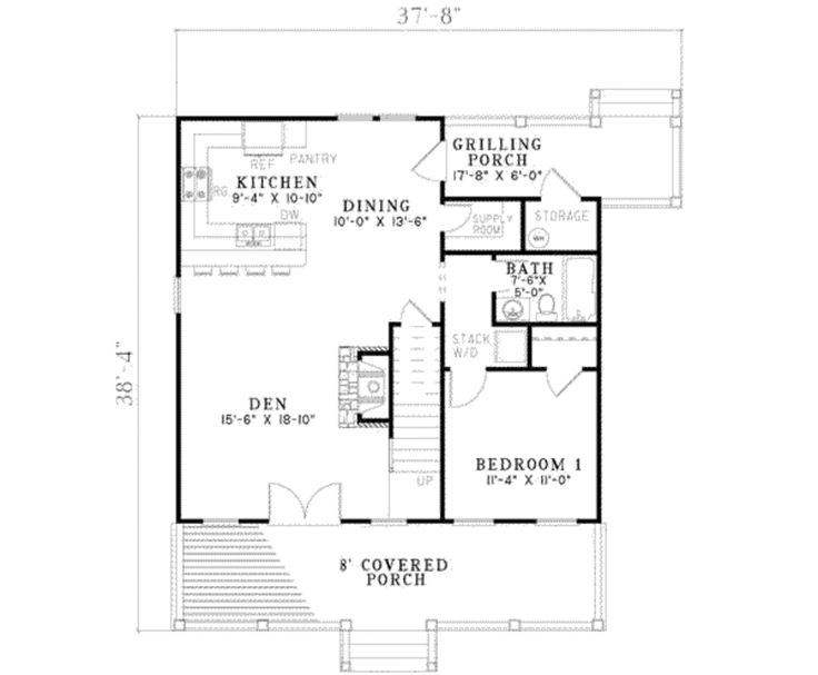 14 best House Plans with Lofts images on Pinterest Country homes - plan 3 k che