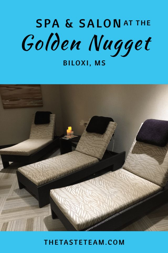 Spa and Salon at the Golden Nugget Biloxi, MS