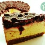 Sour Cream CheeseCake | Funky Cook