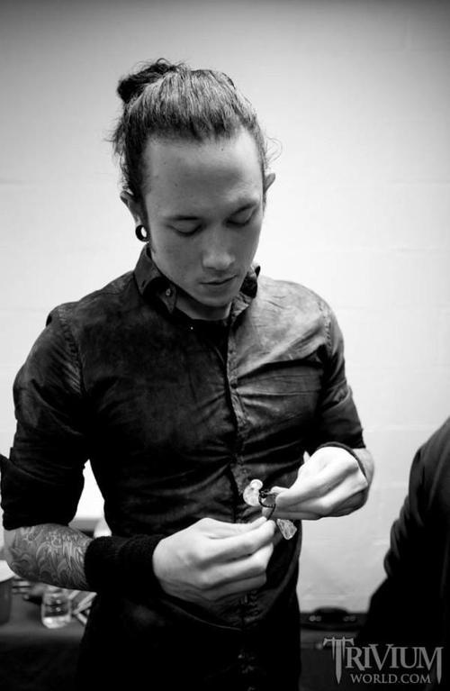 Matt Heafy #Trivium #beautifulman