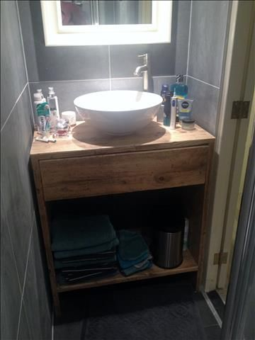 Badkamermeubel - Steigerhout Het Gooi
