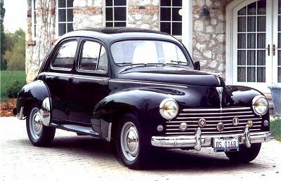 Classic 1957 Peugot 203. Mate of mine still has one, sunroof & all. Very stylish! The French have made some lovely cars.
