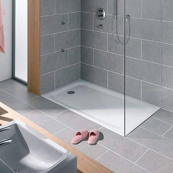 Hart Steel Shower Tray Rectangle | Shower Trays | CP Hart