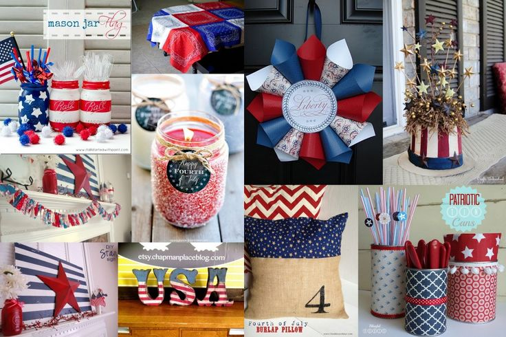 how to make 4th of july decorations out of paper