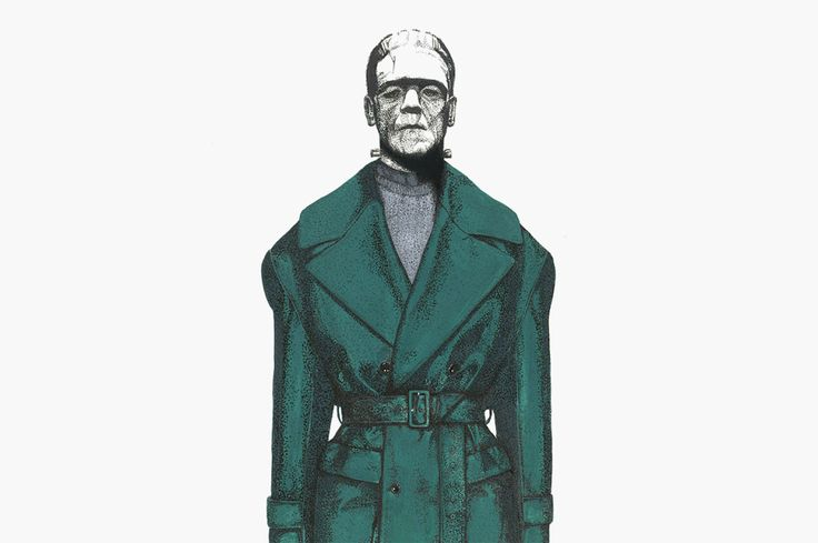 Frankenstein, Jason, Michael Myers and More Illustrated Wearing Fall 2014 Collections • Highsnobiety