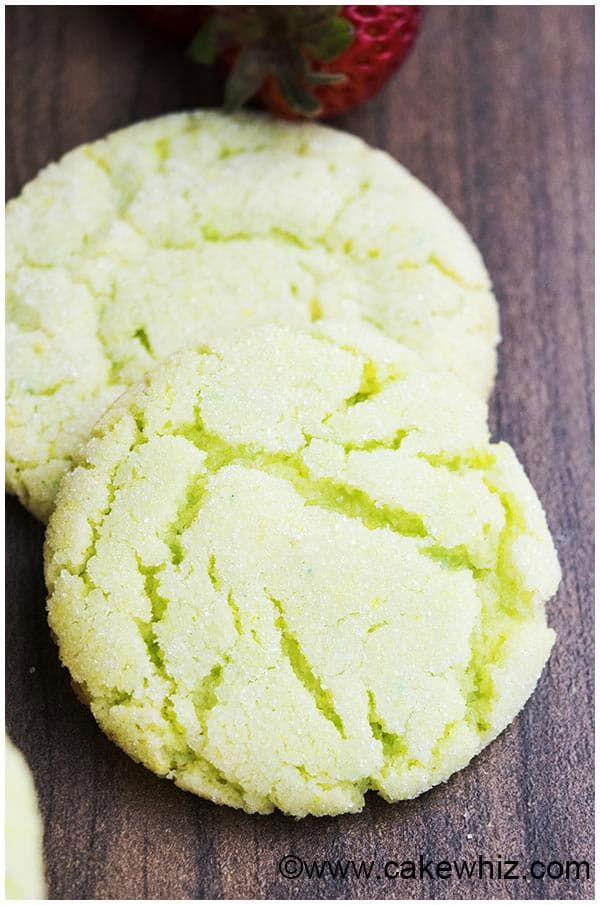 Key Lime Cookies- Let's get ready for St. Patrick's Day.