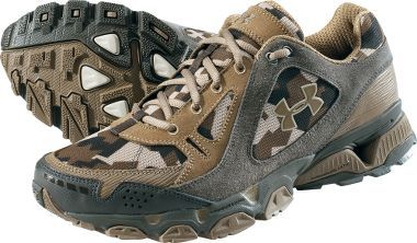 Under Armour® Chetco II Shoes – Brown Camo, Men's Athletic Shoes, Men's Footwear, Footwear : Cabela's