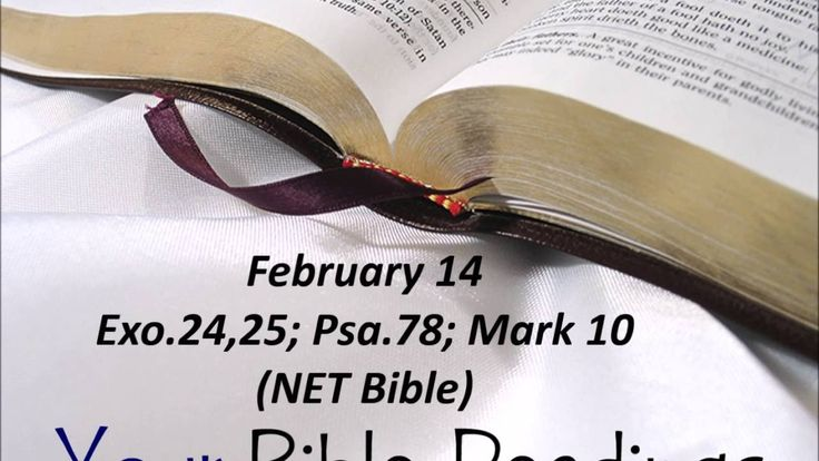 Your Bible Readings for February 14