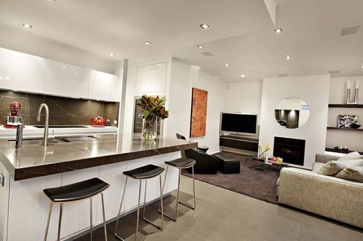 Картинки по запросу дизайн кухня столовая в белом