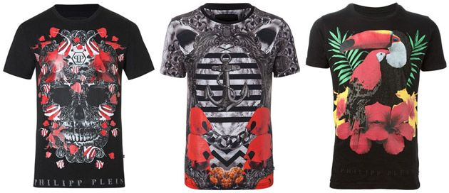 Philipp Plein T-Shirt für Damen & Herren - Outlet, Sale & Online Shop