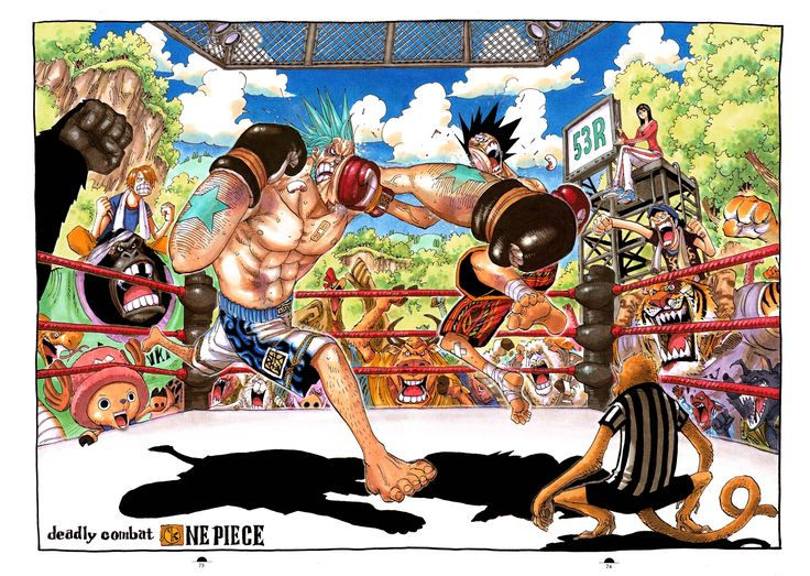 one piece franky vs bastille