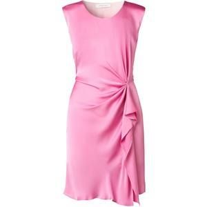 This elegant 100% silk cocktail dress in soft pink | The perfect eyecatcher.  Price on request.
