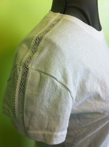 Easy way to re-fashion a T-shirt!