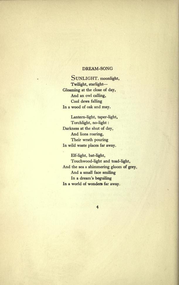 Down-adown-derry; a book of fairy poems, with i... Walter de la Mare