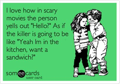 Scary Movie Humor