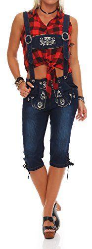 Trachten jeanshose damen lang