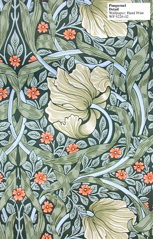 William Morris - Pimpernel Hand Print - WP 9226-01