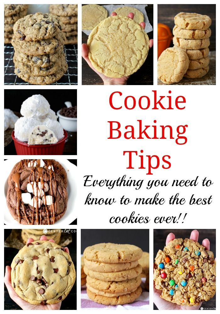 Cookie Baking Tips- everything you need to know to make the best cookies ever!!