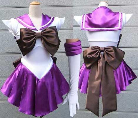 Sailor Moon costume Sailor Saturn cosplay costume Hotaru fancy dress