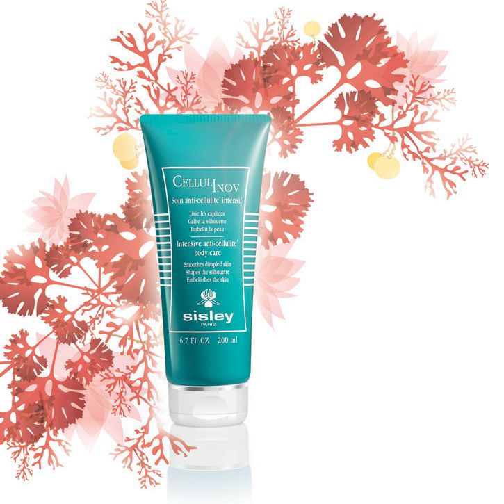 [Natural Element] For Cellulinov, Sisley selected the Indian Lotus, an aquatic flower which, due to its numerous properties, targets the look of cellulite.
