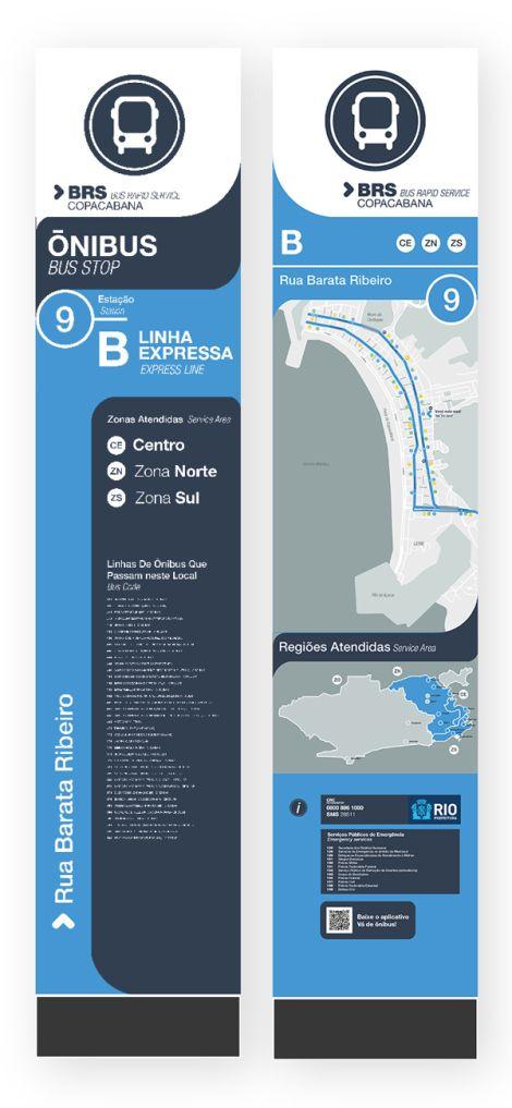 Estudo sinalização Copacabana   Núcleo de Design Gráfico Ambiental - NDGA