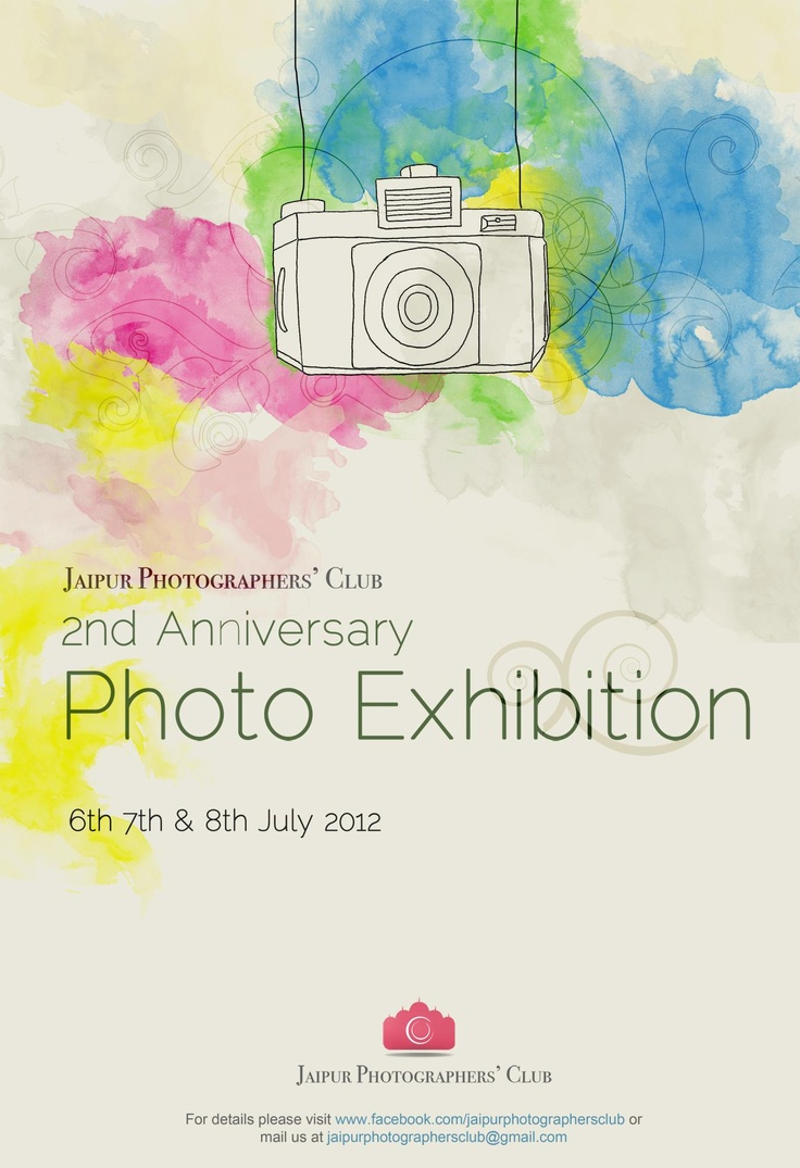 Poster design exhibition - Photography Exhibition Poster