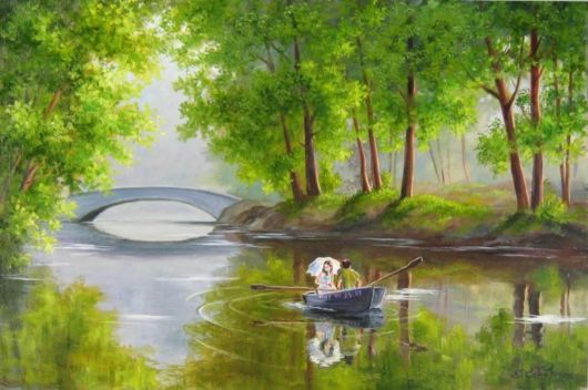 Cool 10 Beautiful Nature Paintings http://designsnext.com/?p=1445