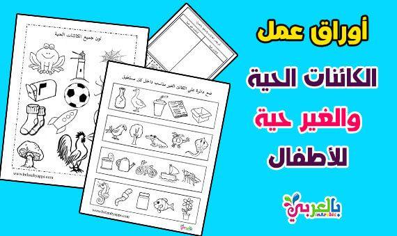 أوراق عمل عن الحواس الخمسة للأطفال جاهزة للطباعة تمارين عن الحواس الخمس بالعربي نتعلم Free Printable Worksheets Worksheets Free Printable Worksheets