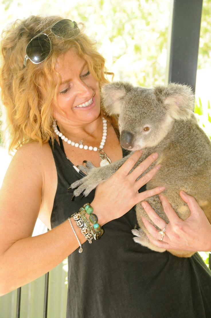 """At Hamilton Island...this is the """"famous"""" koala, Elvis, that Oprah held in her Aussie photos!!!April  2011"""