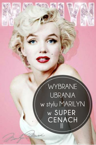 Mega promocja na ubrania w stylu #MarilynMonroe!  GET the LOOK by Marilyn --> MEGA #Sale