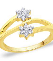 Buy Gold Cubic Zirconia rings Ring online