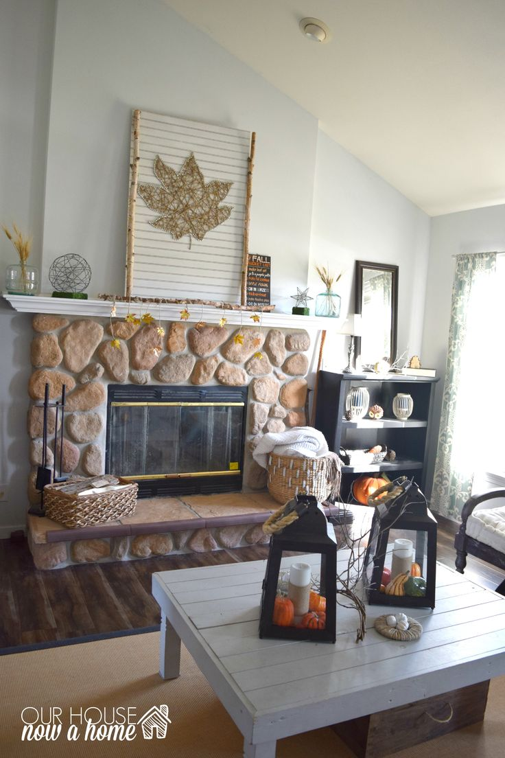 Fall Mantels Fall Living Room And Mantels On Pinterest