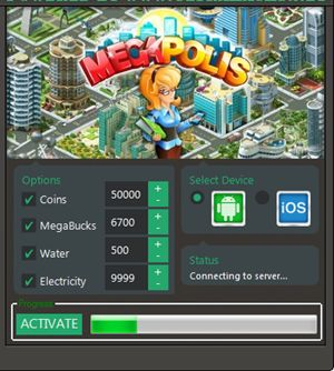http://redappsworld.com/megapolis-hack/ Megapolis Hack Tool Features: Add unlimited Coins/MB Add unlimited Cash Population Hack Electricity Hack Unlock all Buildings Anti-ban (Undetectable that is 100% Guaranteed) Accessible and simple design for many users Works for PC, Mac, all browsers, Mobile phones(Android, iOS, iPhone, iPad, iPod) Automatic daily updates to ensure that the hacks are still working fine Tested and 100% working http://redappsworld.com/megapolis-hack/