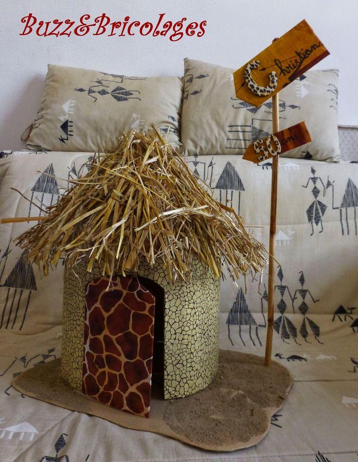 Urne case africaine Buzz & Bricolages: Africa express