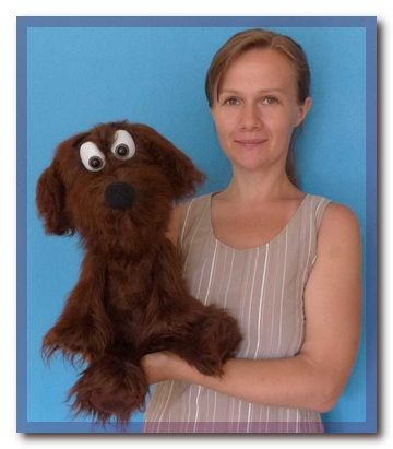 All soft Dog puppet, Puppet for sale