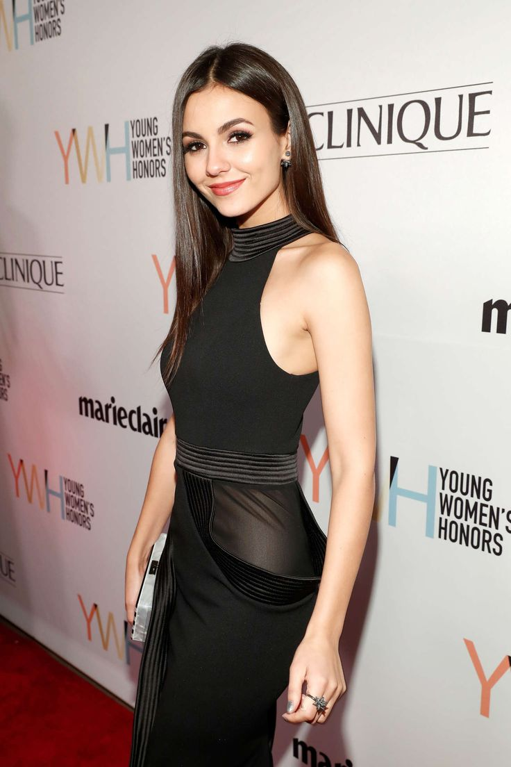 Victoria Justice ~ 1st Annual Marie Claire Young Womens Honors