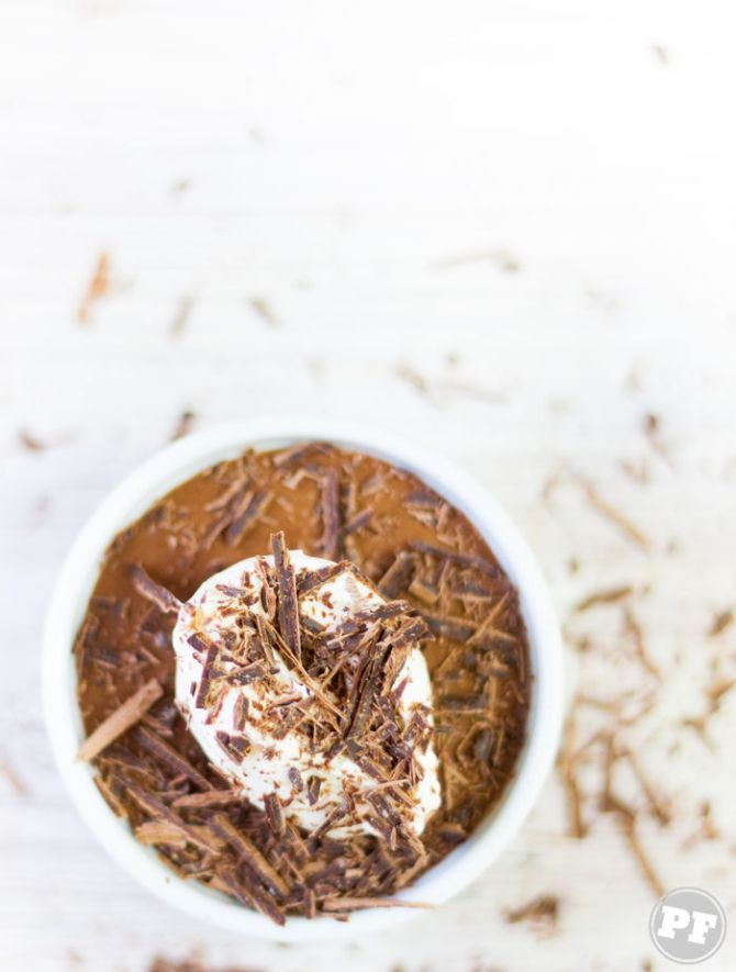Receita: Mousse de Chocolate com Creme Irlandês