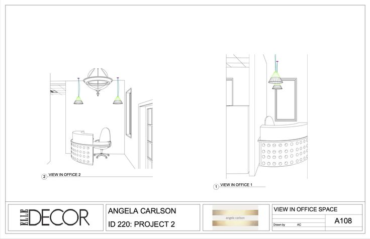 Introduction to Revit Family: Reception Desk for Elle Decor