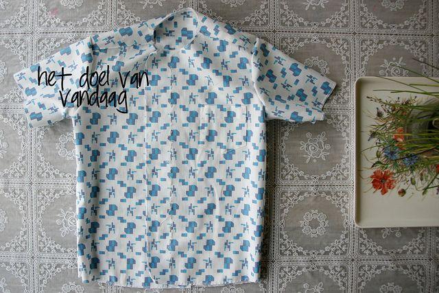 Shirt sew along by Mamasha - 3