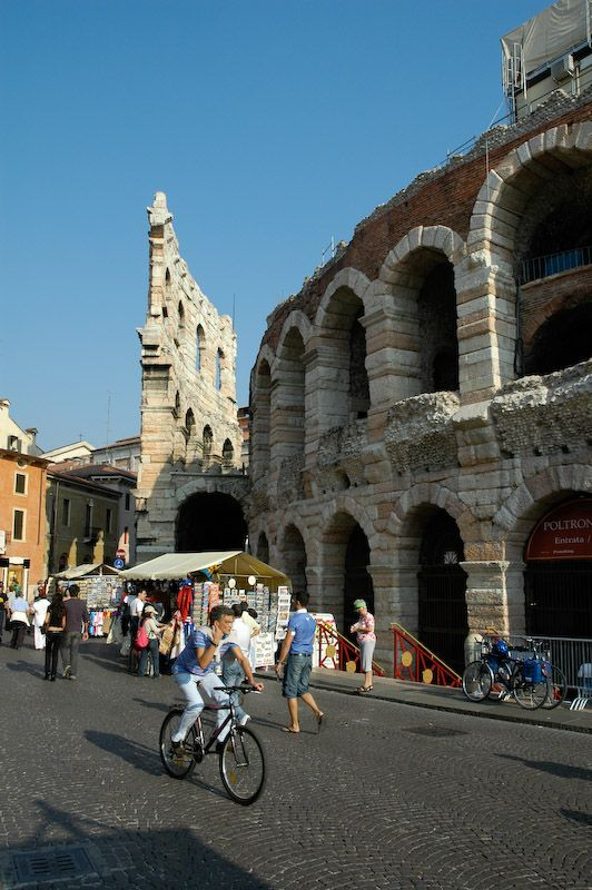 Verona's Arena - Veneto Italy We spent the day here and had a great time.