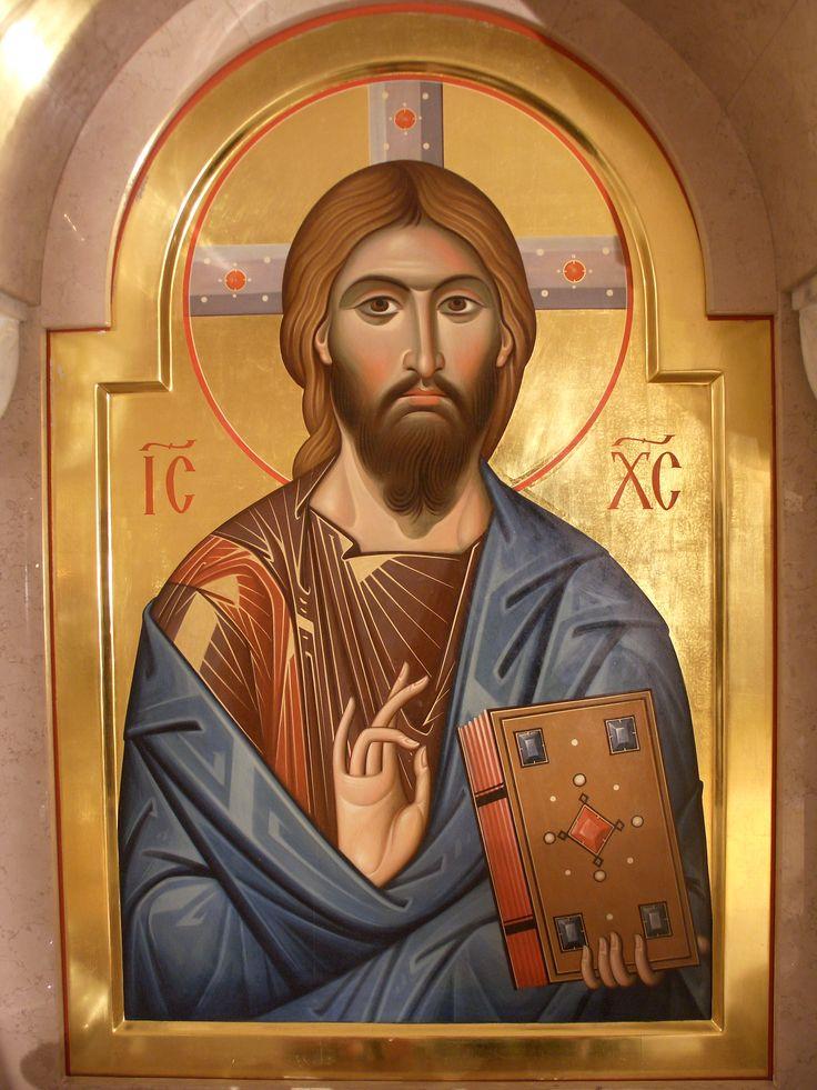 Икона Господь Пантократор. 2010г.,