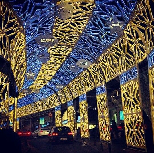 Christmas in Istanbul.
