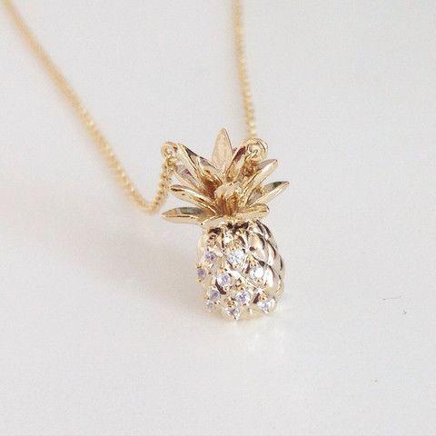 Awesome Pineapple Necklace – shopebbo