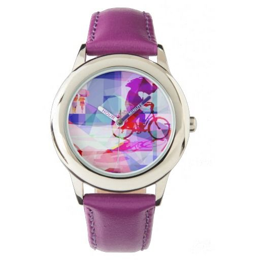Purple rain watch relojes de mano