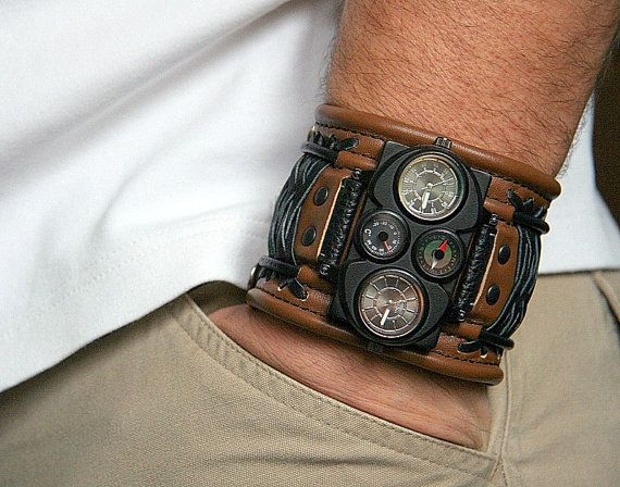 Hey, I found this really awesome Etsy listing at https://www.etsy.com/listing/114411896/mens-wrist-watches-leather-gifts-for-men