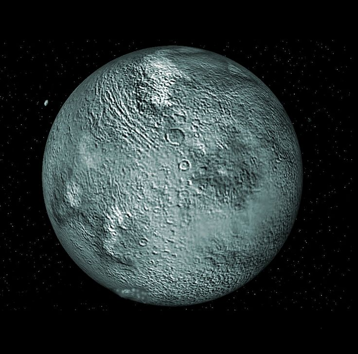 Eris -- a dwarf planet that lies in the outer reaches of our Solar System